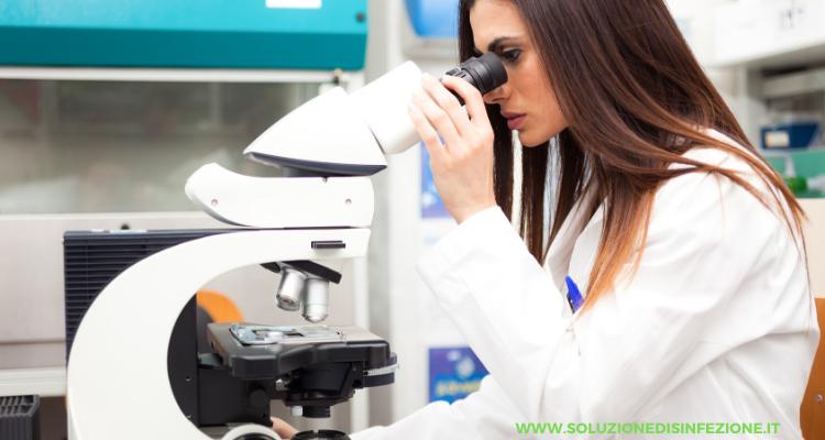 ricerca batteri sanificazione ambienti